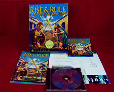PC DOS: the Rise & rule of ancient empires-sierra 1996 con embalaje original