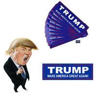 10pcs Donald Trump For 2020 President Make America Great Again Bumper Stickers