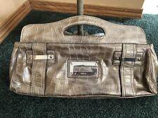 Guess Brand Clutch/Handbag Gold/Silver