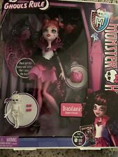 Monster High Ghouls Rule Draculaura Doll 2012 in Box *Retired*