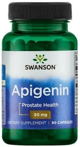 Apigenin Supplement 90 Capsules Calm Anti-Anxiety Relax Nervous System