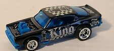 Hot Wheels King Cuda Super Treasure Hunt Body w/ Prototype Base & Interior & RRs