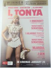 Promotional Movie Flyer *NOT A DVD* Margot Robbie Stars In I, Tonya