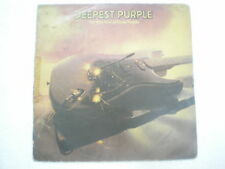 DEEP PURPLE THE VERY BEST OF DEEPEST PURPLE RARE LP record INDIA INDIAN 70 VG+