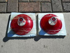 '61 Ford  Starliner, Sunliner, Galaxie Tail Light Lens Pair