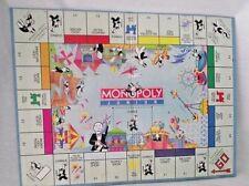 Monopoly Junior Jr Replacement Game Board Wall Decor 1990 Amusement Park