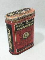 Vintage NR Nature's Remedy Sixty Tablet Laxative Empty Tin Lewis Howe Company