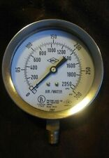 New BRC 300PSI Pressure Gauge for Fire Protection Model W101 Air/Water