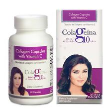 COLAGEINA 10 Collagen Capsules with Vitamin C
