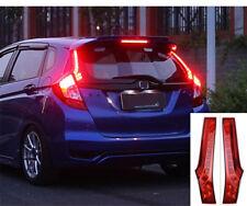 Fit For Honda Fit Jazz 2015-2017 Rear Window decoration lamp led brake light 2PC