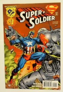 Super Soldier #1 (10GM/1st APP Super Soldier in Own Title/Earth-9602! Wow!)
