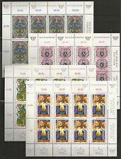 Österreich Kleinbogen LOT 1996 - 1999 postfrisch (4 Kleinbögen)