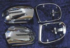 Spiegelkappen + LED Blinker UMFELDB. für Mercedes W164 CHROM
