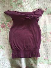 Never Worn JESIRE ladies Top-size M (10.) Purple Colour