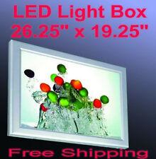 """A2 Led Slim Aluminum Frame Light Box 26.5"""" x 19.5"""" Advestising Poster Display"""
