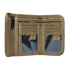 NcStar CAWLT2983T TAN Law Enforcement Tactical Military Police Bifold Wallet
