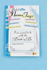 Bridal Shower Name Tags - Rehearsal Dinner - Reception - Bride-to-Be - Wedding
