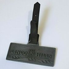 Vintage Metal Bag Tag for The Lincoln Hills Club Est. 1999