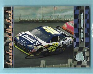 JIMMIE JOHNSON  -  Autographed - 2010 Press Pass Premium - Card #68     [h2]