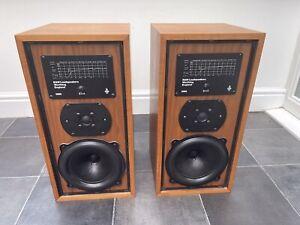 B&W DM5 Bowers and Wilkins Bookshelf Speakers Audiophile England made