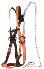 Delta Plus Fall Arrest Restraint Harness Kit & Bag Karabiners Lanyard Elara130