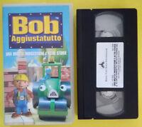 VHS Film Ita Animazione BOB AGGIUSTATUTTO buena vista WS 7088 no dvd cd lp(V140)