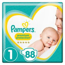couches Pampers - New Baby - Taille 1 (2-5 kg) – Lot de 2 packs x44 (88 couche