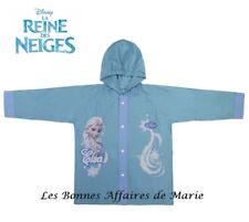 DISNEY - La Reine des Neiges - LIQUIDATION - Imperméable coupe-vent bleu 4A Neuf