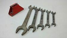 DUNLAP FORGED USA Vintage Wrenches SAE Handyman Tool Set Lot Automotive Repair