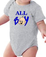 Infant Creeper Bodysuit T-shirt All Boy