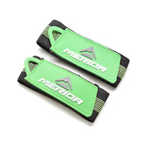 2x Bicycle Cycling Reflective Ankle Leg Bind Trousers Pant Band Clips Strap SK