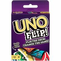 UNO Flip Card Game Brand new sealed package Mattel Games flip the deck -Original