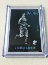 2016-17 Noir Soccer Xherdan Shaqiri 5/10 Platinum Base Switzerland Liverpool