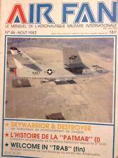 Air Fan French Magazine Skywarrior & Destroyer Aout 1982 012118nonrh