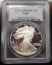 1987-S PROOF SILVER EAGLE ~ PCGS PR69 ~ FREE SHIPPING