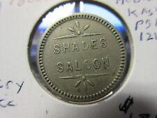 Nanaimo British Columbia / Shade's Saloon Token  GF .05  Token  WM  20mm