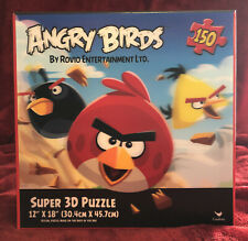 NEW Angry Birds Super 3D Puzzle  By Rovio Entertainment - 150PC 12x18 Cardinal