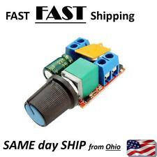DC Motor PWM Speed Controller 3V 6V 9V 10V 12V 14V 16V 24V 35VDC 90W - 5A max,