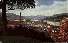 Bad Tölz Oberbayern Bavaria ~1910 Blick in den Isarwinkel Verlag Köhn ungelaufen