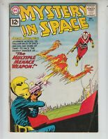 "Mystery In Space 72 VG (4.0) 12/61 Adam Strange! ""The Multiple Menace Weapon!"""