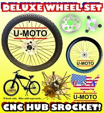 Complete 2-Stroke 66Cc/80Cc Motorized Bike Wheel Set For Kits And Bicycles