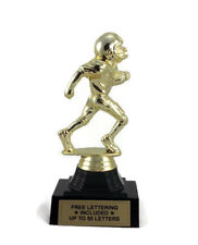 Football Trophy, Youth- Male Runner- Touchdown- Desktop Series- Free Lettering
