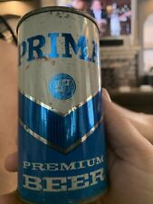 Prima flat top beer can Chicago Ill opened on both sides 116-32