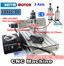 3040Z-DQ 3 Axis 500W Spindle CNC Router Engraver Engraving Milling Machine Kit