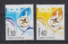 CYPRUS MNH STAMP SET 2007 EUROPA CENTENARY OF SCOUTING SG 1133-1134