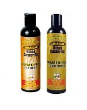Jamaican Mango & Lime Black Castor Oil Shampoo & Conditioner 8 OZ 237 ml