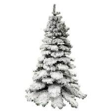 Alberi di Natale bianchi in metallo, tema natale