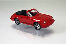 Wiking 016203 PORSCHE 911 SC Cabrio con volpe-CERCHI-Rosso/Red