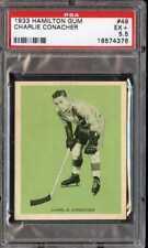 1933 HAMILTON GUM #49 CHARLIE CONACHER HOF RC PSA 5.5 MAPLE LEAFS *CG0881