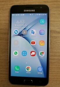 Samsung Galaxy J3 (2018) SM-J337U - 16GB - Black. Service was with Verizon